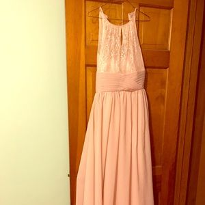 Bridesmaids dress. Could be prom or formal.